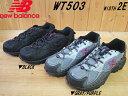 ♪NEW BALANCE WT503▼ブラック(BK2)・グレー/パープル(GP2)▼WIDTH 2E(標準)▼ニューバランス レディース トレイルランニングシューズ