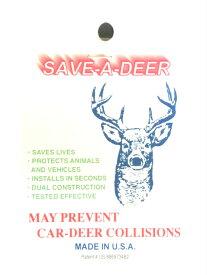 鹿笛 鹿よけ 野生動物との衝突リスクを低減! SAVE A DEER