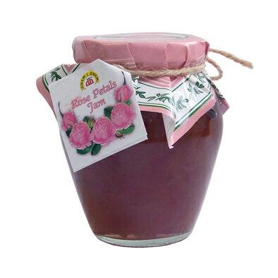 バラの花びらを1枚1枚丁寧に取り入れ作られる芳香豊かなジャム。ダマスクローズの癒しの芳香を楽しめます。健康・美・若さの象徴!ローズペタルジャム(バラジャム) 680g ブルガリア産【10P01Oct16】【RCP】