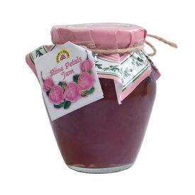 バラの花びらを1枚1枚丁寧に取り入れ作られる芳香豊かなジャム。ダマスクローズの癒しの芳香を楽しめます。健康・美・若さの象徴!ローズペタルジャム(バラジャム) 360g ブルガリア産【10P01Oct16】【RCP】