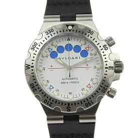 【本物保証】 超美品 ブルガリ BVLGARI ディアゴノ プロフェッショナル スクーバ メンズ 腕時計 SD 40 S RE 【中古】