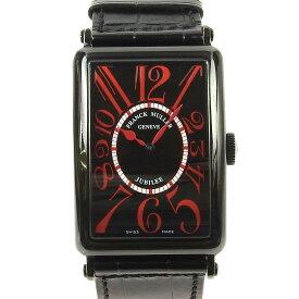 【本物保証】 【値下げ】 フランクミュラー FRANCK MULLER ロングアイランド リミテッドエディション メンズ腕時計 K18 PVD 【中古】