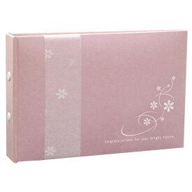 GC−和装用なでしこ 結婚記念 カード式芳名帳 ゲストカード 30名用追加可能 TAKENO 竹野株式会社 880-0004