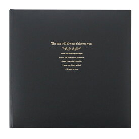 D-SNAP3面黒(角+2L2+手紙中枠)写真台紙 記念写真 アルバム TAKENO 竹野株式会社 600-0081