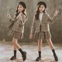 【2020新作!】入学式 女の子 スーツ 子供服 セットアップ 女の子 フォーマルスーツ 入学式 フォーマル スーツ スカー…