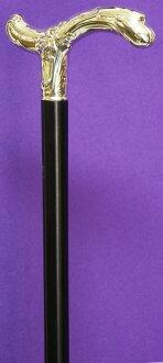 독일・가스트록크 사제 고급 순은(스털링 실버:순도 925) 흑단 L자형 스틱
