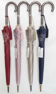 29년 신작의 카본뼈의 우산입니다!마에바라 우산 브랜드 레이디스장 우산 부인용 우산 16개뼈황실 납품업자 마에바라 히카루영상점보다 우아한 황실 납품업자 마에바라 히카루영상점 「마에바라 우산 카본뼈백합무늬 리 리에 네이비」