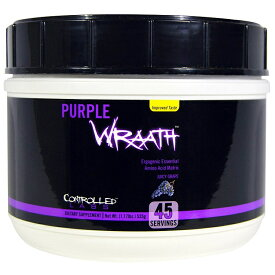 Controlled Labs PURPLE WRAATH コントロールラブ パープルラース ジューシーグレープ味 45回分 (535 g)