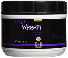 Controlled Labs PURPLE WRAATH コントロールラブ パープルラース パープルレモネード味 45回分 (535 g)