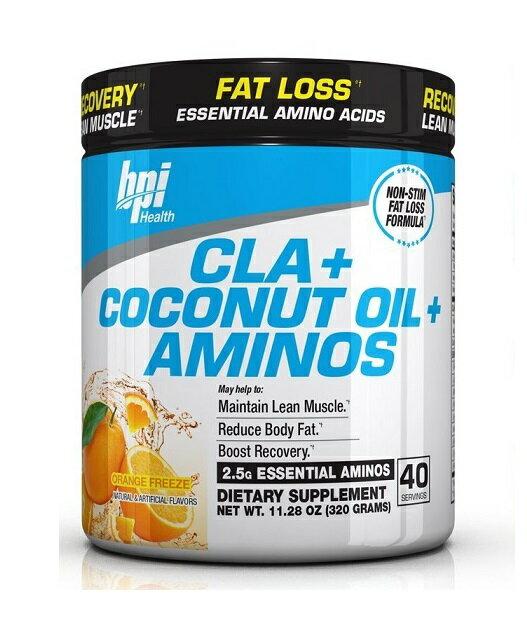 「最大1,000オフクーポン配布中」 CLA+ココナッツオイル+必須アミノ酸 320g 40回分