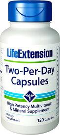 ライフエクステンション ツーパーデイ 120 カプセル - Life Extension two Per Day Caps