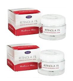 2個セット Life-Flo Retinol A 1% Cream 1.7oz ライフフロー レチノール A 1% アドバンスド リバイタリゼーション クリーム 50 ml