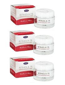 3個セット Life-Flo Retinol A 1% Cream 1.7oz ライフフロー レチノール A 1% アドバンスド リバイタリゼーション クリーム 50 ml