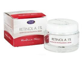 Life-Flo Retinol A 1% Cream 1.7oz ライフフロー レチノール A 1% アドバンスド リバイタリゼーション クリーム 50 ml