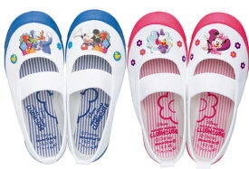 MOONSTAR ムーンスター DN08バレー Disney ディズニー ミッキー デイジー キッズ 子供 男の子 女の子 上履き 上履 上靴 日本製 スクール 抗菌防臭 清潔 ピンク ブルー /ST