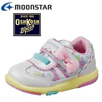 假如是1双的话,能洗定形外面的(邮费400日元)可能的奥什科什OSK B359婴幼鞋小孩鞋蝴蝶结花纹♪魔术型2E的鞋垫女人的孩子轻量设计粉红萨克斯莫尔/howaitoani 2017SS6