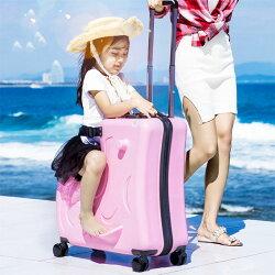 バッグ・小物・ブランド雑貨バッグスーツケース・キャリーバッグホット!子供ファッションスケートボードローリング荷物子供スピナー旅行トロリーケースかわいいスーツ上のキャリーケース