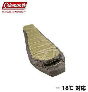 コールマン マミー型シュラフ 寝袋 −18℃ 極寒対応  マミー型寝袋 マミー寝袋 マミー型 シュラフ スリーピングバッグ 寒冷地仕様 マミースタイル 冬キャンプ アウトドア 車中泊 大人用 冬