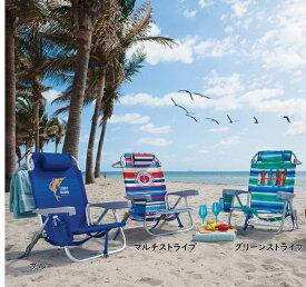 トミーバハマ ビーチチェア 3色 Tommy Bahama サマーベッド プールサイドチェア プールベッド ロースタイル キャンプチェア アウトドアチェア リラックスチェア レジャーチェア リクライニングチェア チェア チェアー 椅子