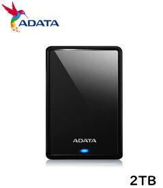 ADATA 外付けハードディスク AHV620S-2TU3-CBK [USB3.1対応・Win/Mac] 外付け ポータブル ハードディスク HDD