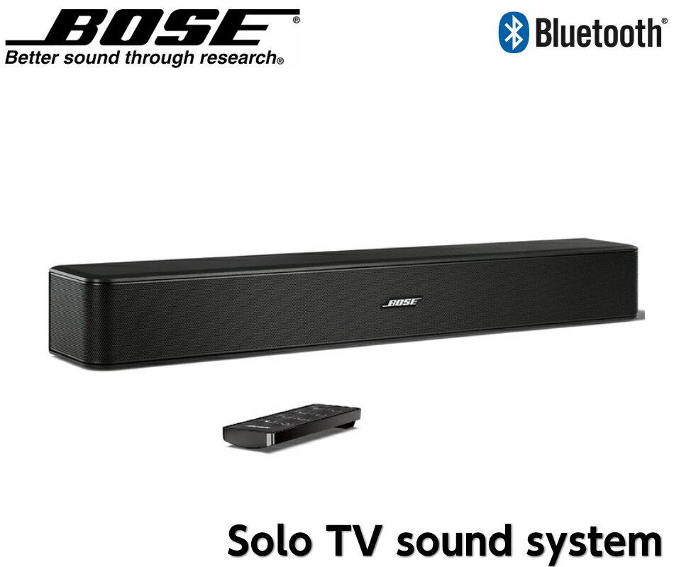 [送料無料]BOSE Bose Solo TV sound system ワイヤレス TV スピーカー ホームシアター サウンドバー Bluetooth ブルートゥース