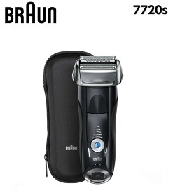 7720s ブラウン 電気シェーバー シリーズ7 電動シェーバー メンズシェーバー シェーバー BRAUN Series7 ひげそり 充電交流式 音波テクノロジー ターボ センシティブ 肌に優しい