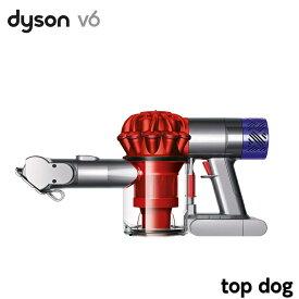 ダイソン 掃除機 ハンディクリーナー V6 top dog レッド HH08MHPT レッド ハンディ掃除機 Dyson サイクロン掃除機 サイクロンクリーナー コードレスクリーナー 布団 クリーナー 掃除機 サイクロン式 ペット用