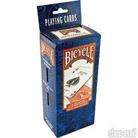 バイスクル トランプ1ダース(12個) BICYCLE STANDARD FACES マジック カードゲーム バイシクル 手品 マジシャン愛用 プロ仕様 1ダースセット