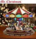 ミスタークリスマス デラックスメリーゴーランド オルゴール クリスマスソング20曲 通常ソング20曲 クリスマス サン…