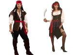 (SCGEHA) 海賊 コスプレ衣装 コスチューム メンズ レディース パイレーツ カリブ 仮装 ハロウィン フリーサイズ