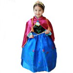 ドレス キッズ アナ プリンセス なりきり 女王 お姫様 コスプレ ハロウィン 仮装 衣装 コスチューム
