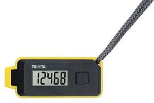 タニタ(TANITA) 3Dセンサー搭載歩数計 歩イッスル 【緊急ホイッスル付き】 ブラック FB-738-BK