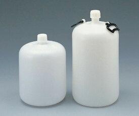 細口瓶(ポリエチレン製) 30L 取手付 【アズワン】