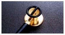 【送料無料】【無料健康相談 対象製品】【ケンツメディコ】 医療用聴診器 ステレオフォネット ゴールド NO171 【fsp2124-6m】【02P06Aug16】