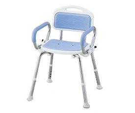 業務用シャワー椅子 ブルー
