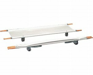 【送料無料】二つ折り担架 取付伸縮型 スチール OT-5 ナビス M0225【02P06Aug16】