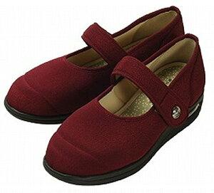 彩彩〜ちりめん〜 W1101 (あずき 21.5cm)【マリアンヌ製靴】 W1464