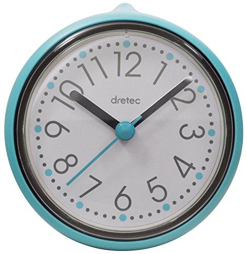 【送料無料】DRETEC(ドリテック) バスクロック スパタイム 防滴仕様 ブルー C-110BL【02P06Aug16】