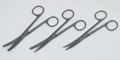 【感謝価格】外科剪刀 14.5cm 両鈍 曲 医療用ステンレス器具【メール便対応可能】【02P06Aug16】