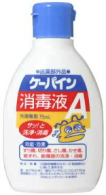 川本産業 ケーパイン消毒液A 75ml