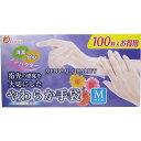 金石衛材 やわらか手袋 M 100枚【02P06Aug16】
