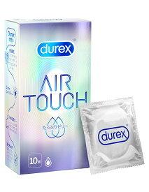 【新発売】コンドーム デュレックス エアタッチ【たっぷりゼリー】 潤滑ゼリー 天然 ゴム ラテックス製 10個入り durex condom