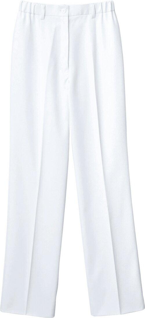 【自重堂】レディースパンツ WH12012(ホワイト) L