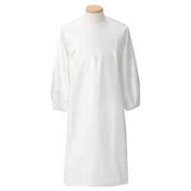 防水エプロン(袖あり) 507-90 M カラー:ホワイト
