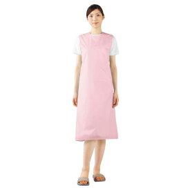 撥水エプロン(女性用) 54-051 カラー:ピンク
