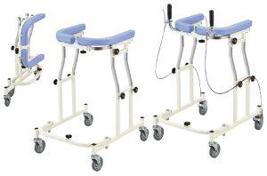【送料無料】【無料健康/介護相談サービス対象製品】歩行器 アルコー12型 ブレーキ付 100453