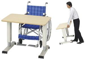 プラス 昇降式リハビリテーブル RZ-1000M サイズ:W880×D570×H577〜757(天板下)※大型商品の為、代金引換不可となります※