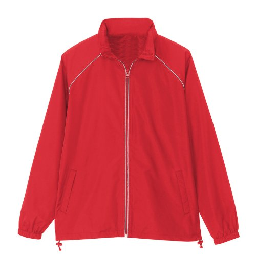 アイトス リフレクトジャケット(男女兼用)(春夏用) AZ-2202 009 レッド Lサイズ