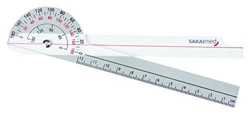 プラスチック角度計 SPR-625R 酒井医療 SAKAI【ネコポス】