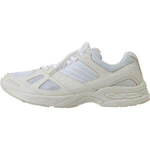 アイトス作業靴 スニーカータイプ/ランニングシューズ/ カラー:101ホワイト サイズ:24.0cm 品番:AZ-51501